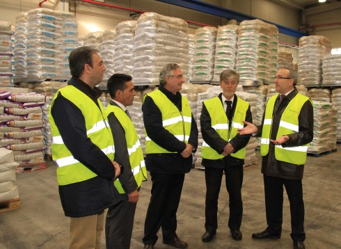 The mayor of Zaragoza visit our facilities