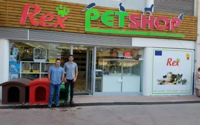 Rex Pet Shop Opening in Turkey