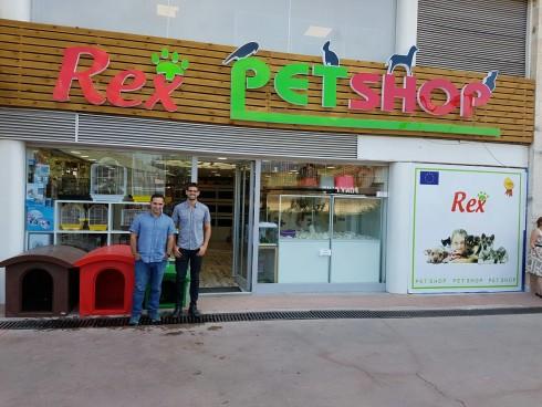 Rex Pet Shop Opening in Turkey