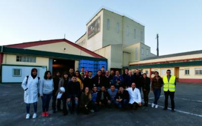 Visita del Master Internacional de Nutrición Animal a las instalaciones de Agroveco